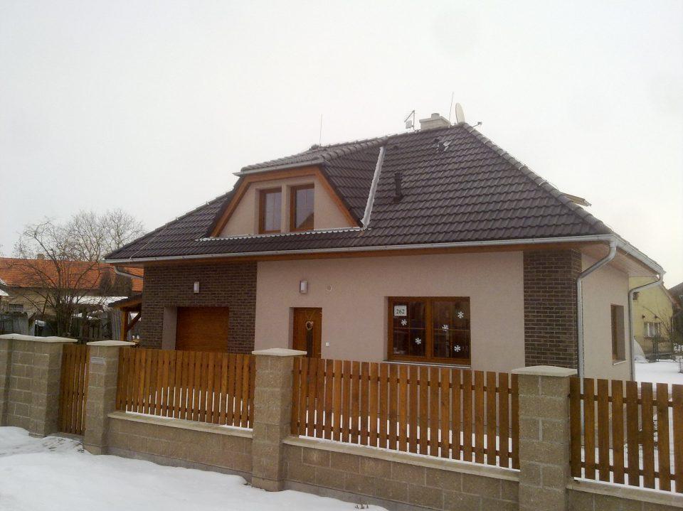 Novostavba RD v  Liblicích 2008-2009