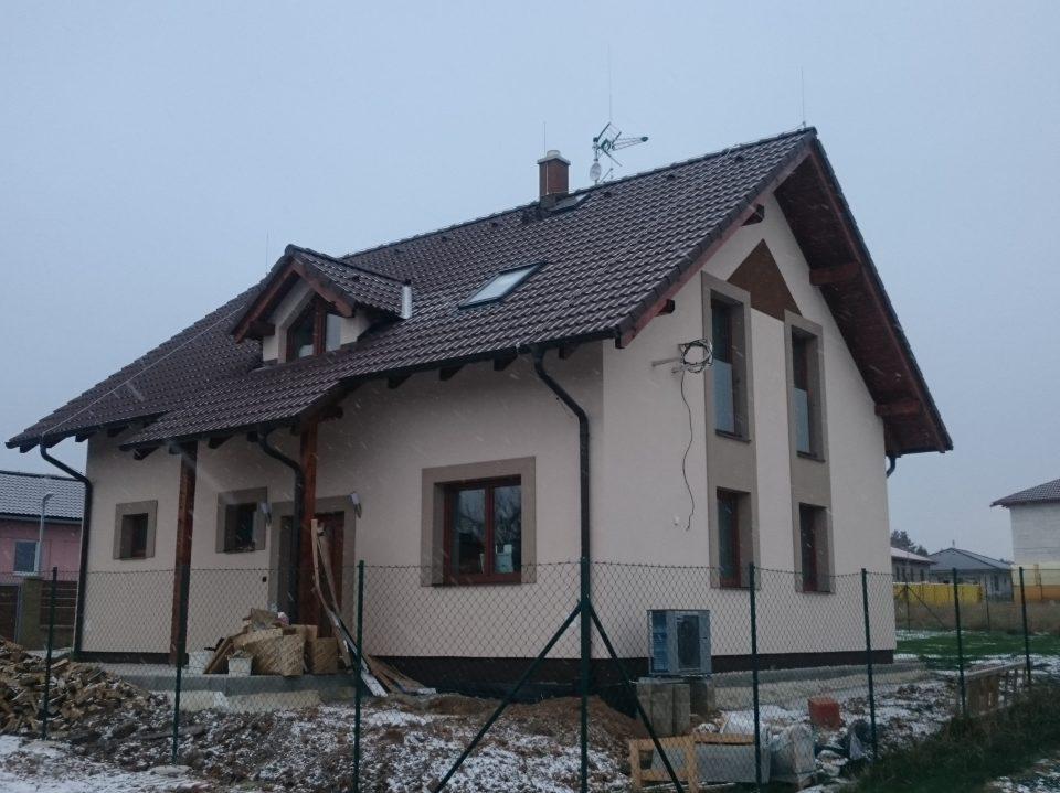 Novostavba RD v Kozojedech 2016