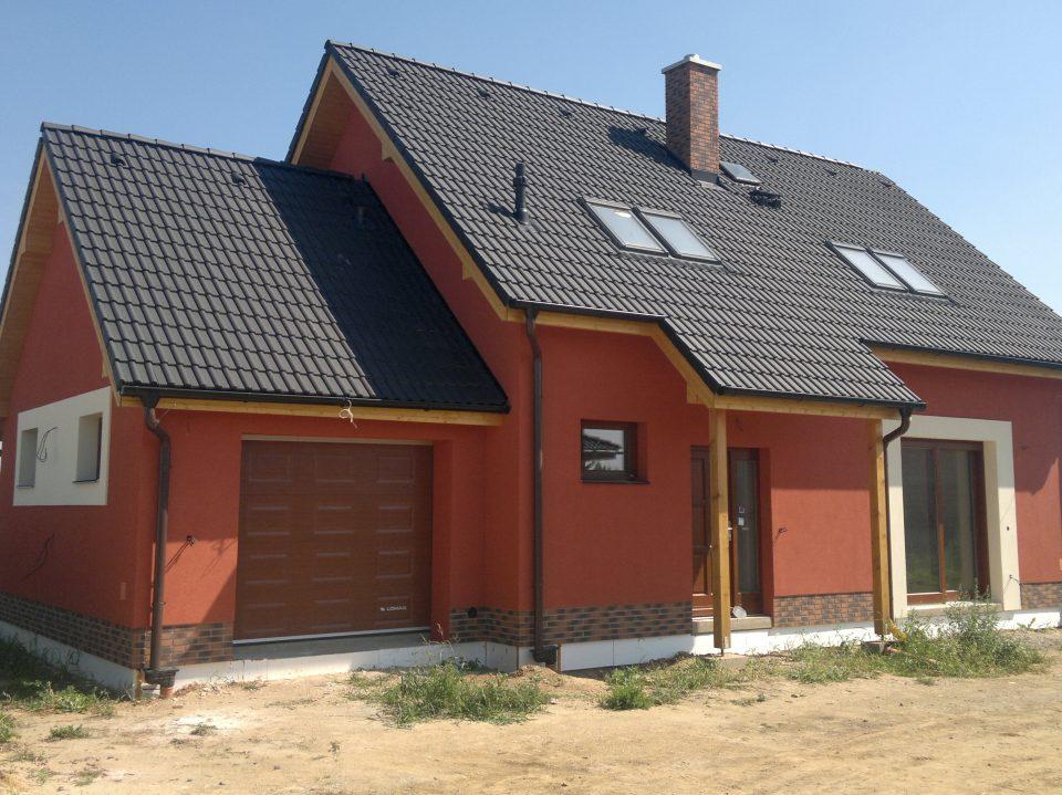 Novostavba RD v Šestajovicích 2012
