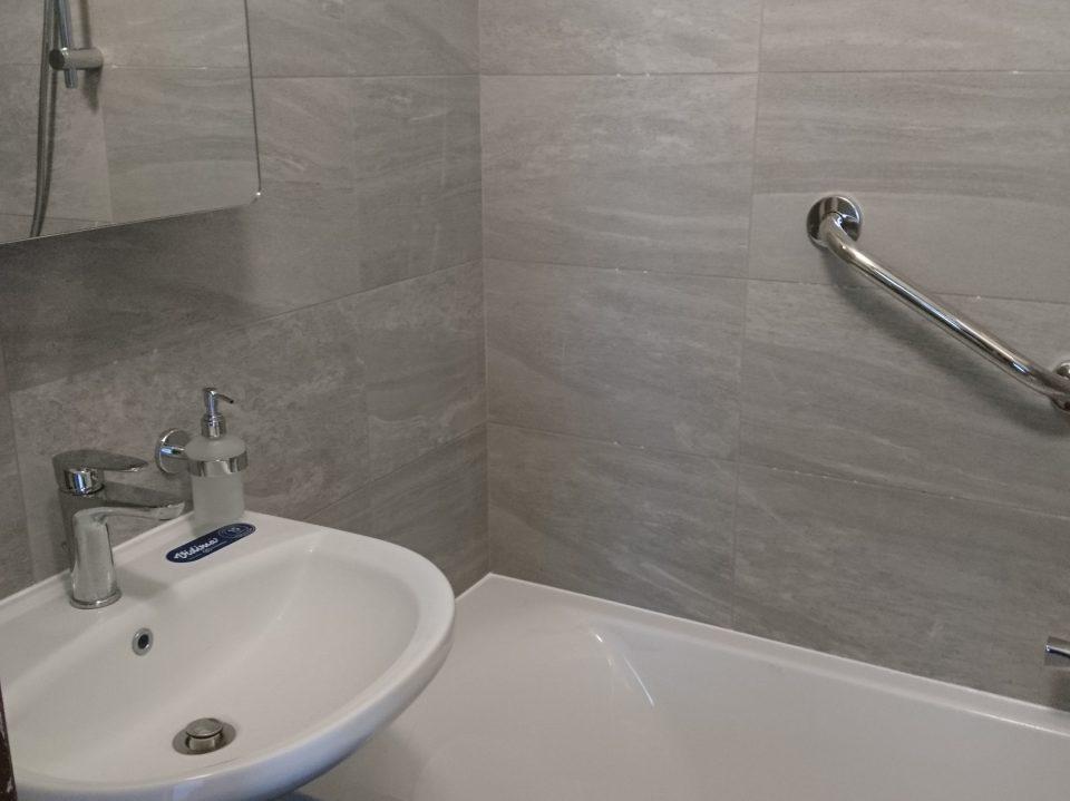 Rekonstrukce koupelny v Č.Brodě 2019