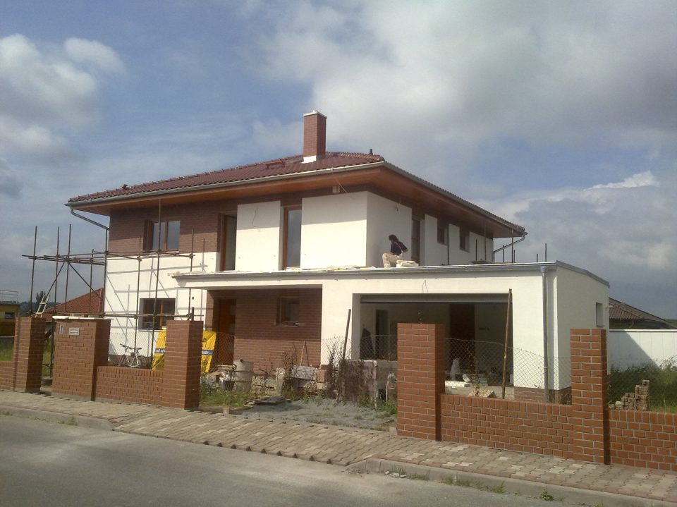 Novostavba RD v Č.Brodě 2009-2010