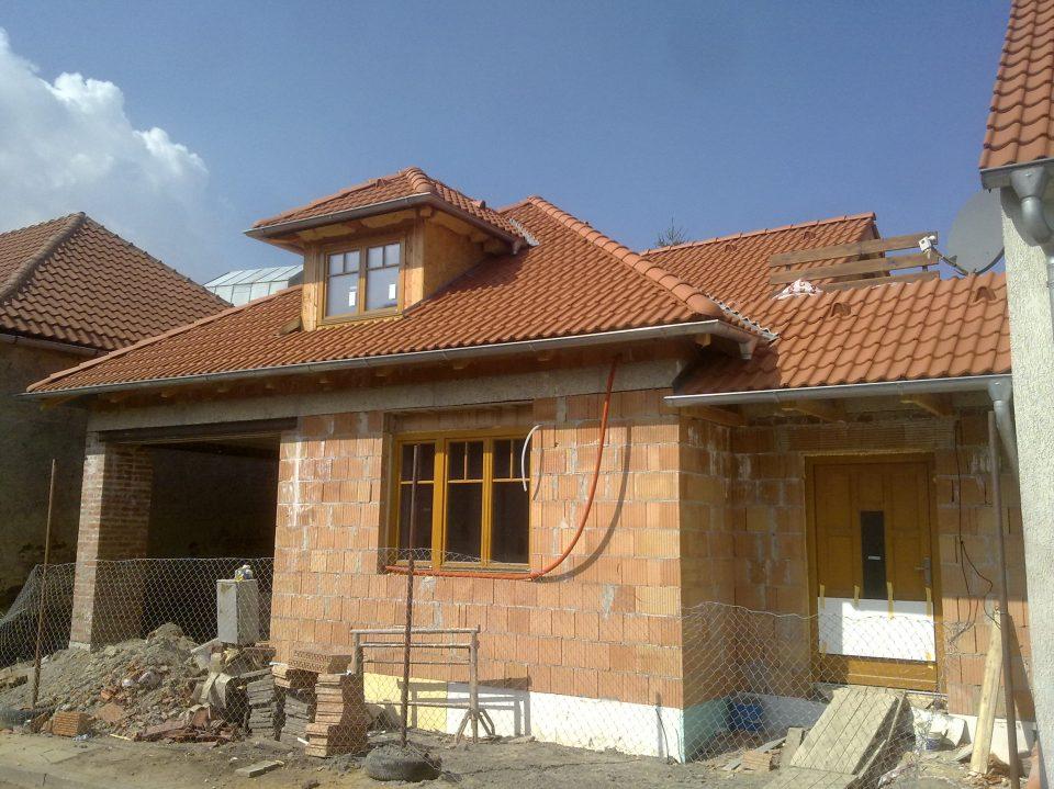 Novostavba RD v Č.Brodě 2010