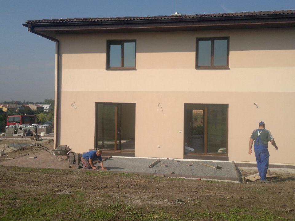 Novostavba RD v Č.Brodě 2011