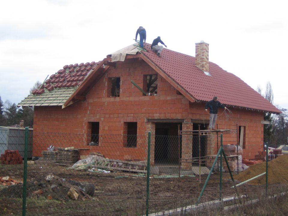 Novostavba RD v Č.Brodě  2006