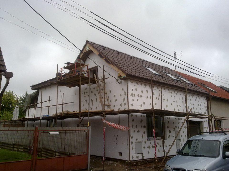 Rekonstrukce RD v Českém Brodě 2011