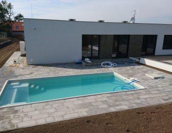 Bazén v Klučově 2018