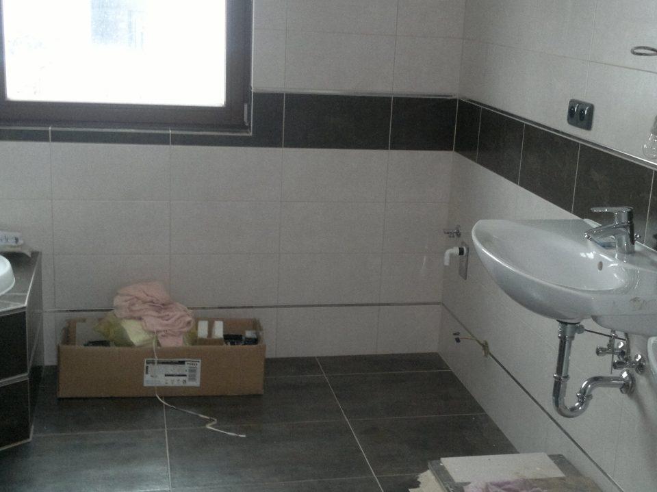 Koupelna v Olešce