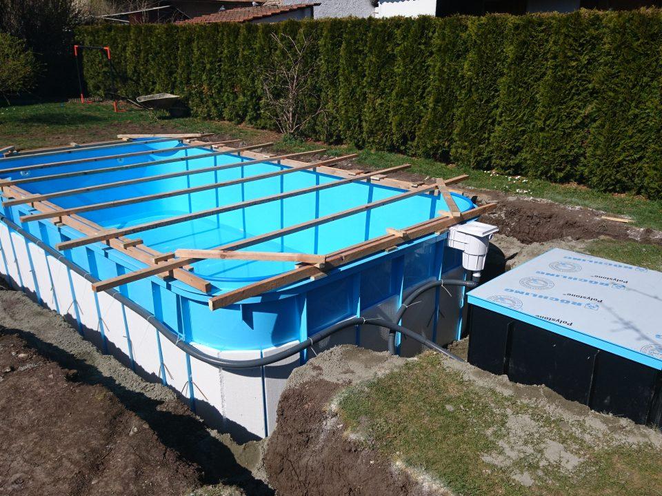 Bazén v Liblicích 2019