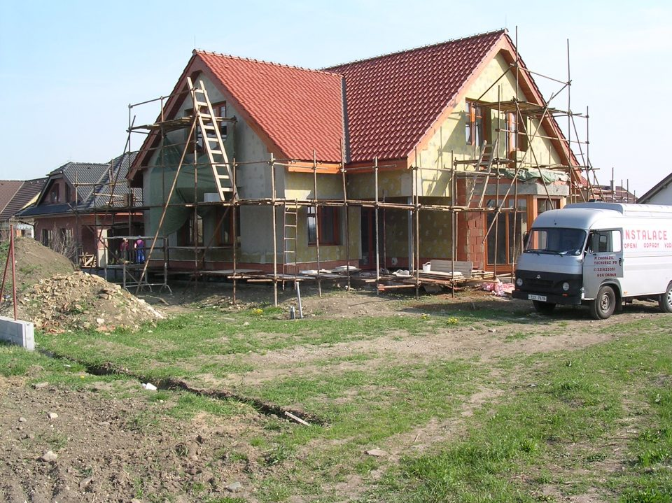Novostavba RD v Zelenči 2004-2005