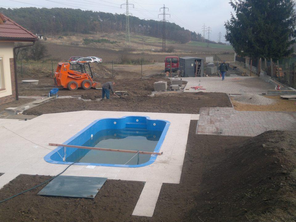 Bazén v Poříčanech 2011