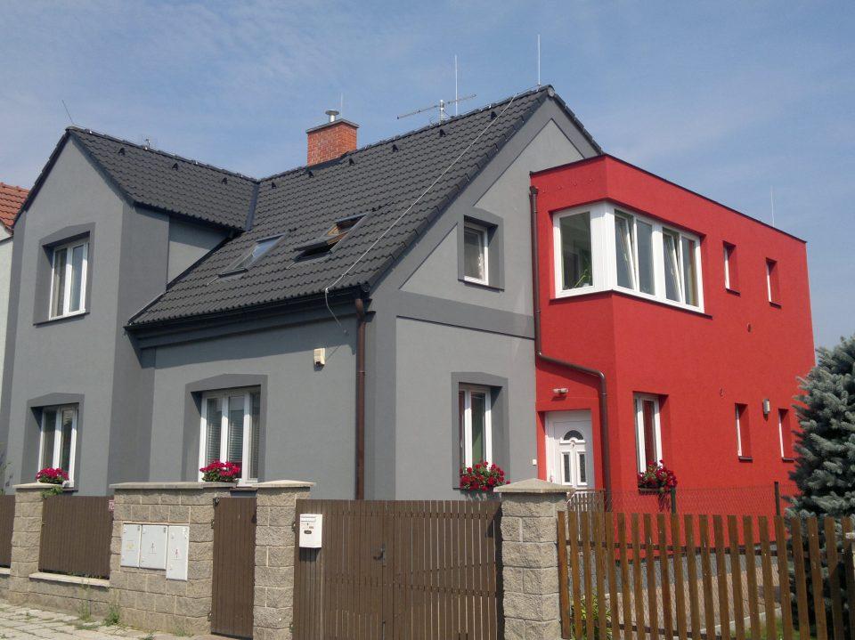 Rekonstrukce RD v Č.Brodě 2013