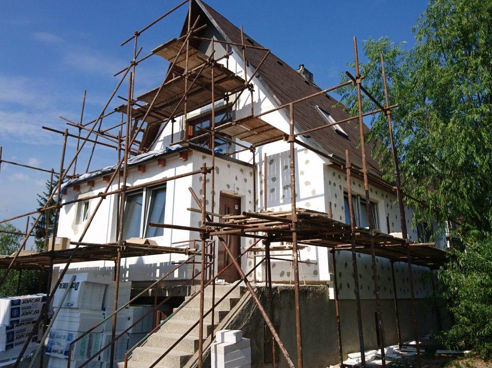 Rekonstrukce RD v Č.Brodě 2015
