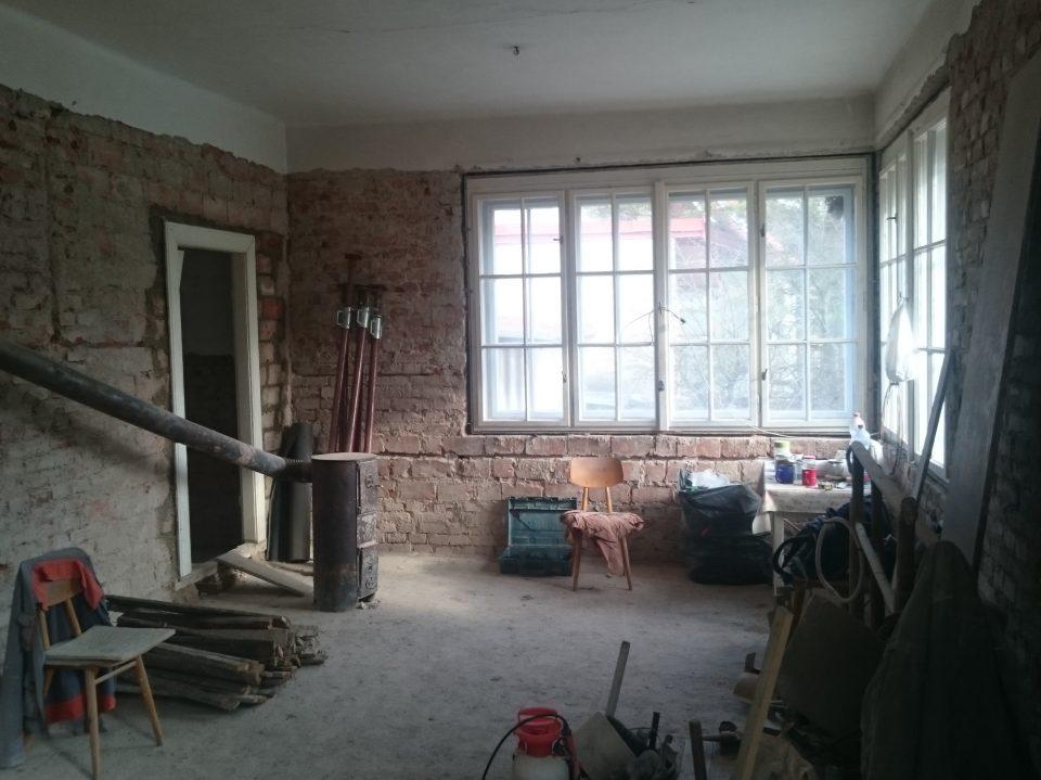 Rekonstrukce RD v Č.Brodě 2016