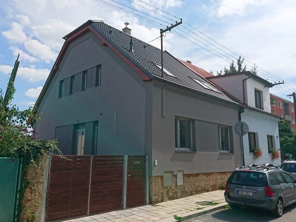 Rekonstrukce RD v Č.Brodě 2017